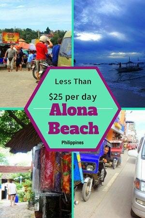 Budget Travel Alona Beach, Philippines