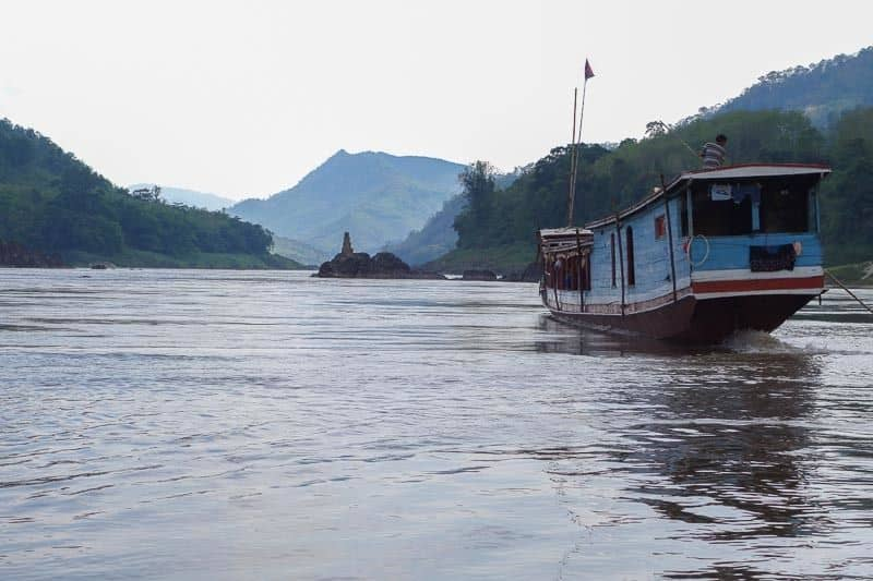 Slow boat to Luang Prabang on the Mekong River Chiang Rai Chiang Mai Pai Chiang Khong Luang Prabang Pakbeng Tips Cost Advice