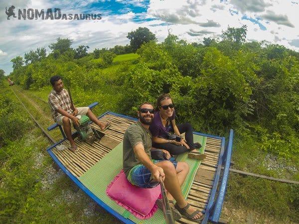 Bamboo Train Battambang 1 Year Travelling Highlights Backpacking Southeast Asia