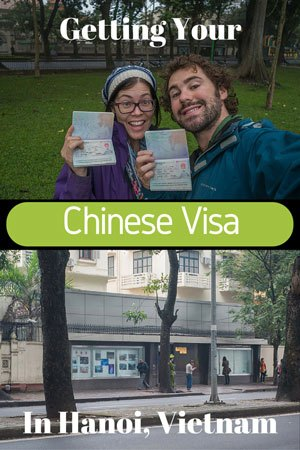 Getting Chinese Visa in Hanoi