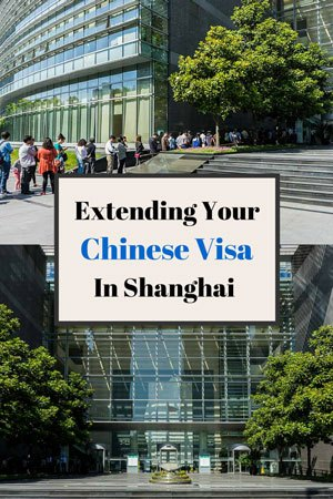 Chinese Visa Extension