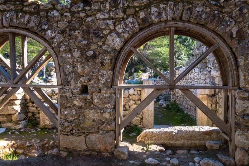 Roman Ruins Olympos Turkey