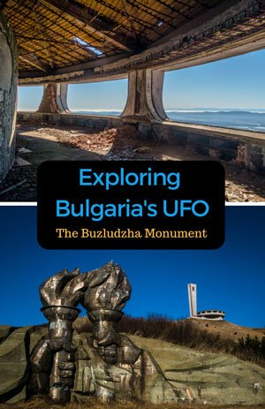 Exploring Bulgaria's UFO - The Buzludzha Monument