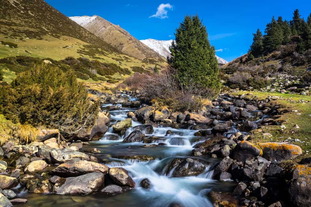 Photos Of Kyrgyzstan Altyn Arashan Creek