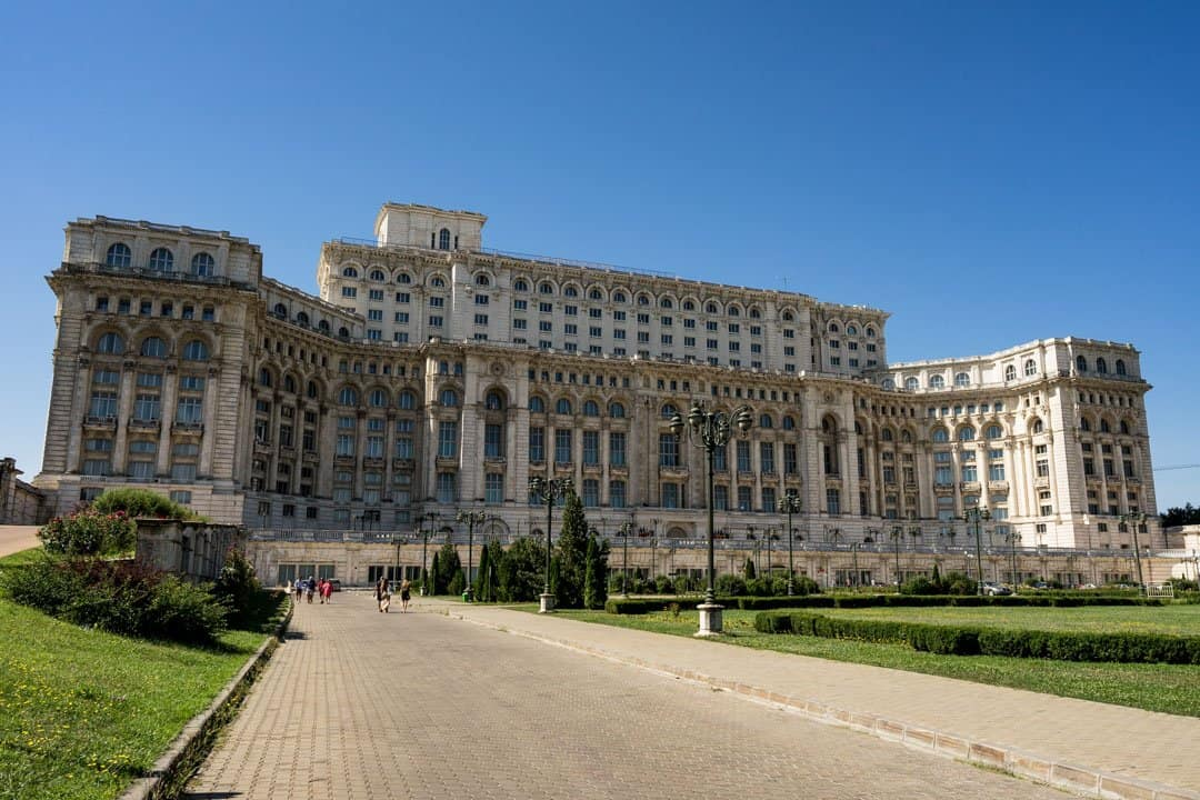 Palace of the Parliament Bucharest Beautiful Decay Tour