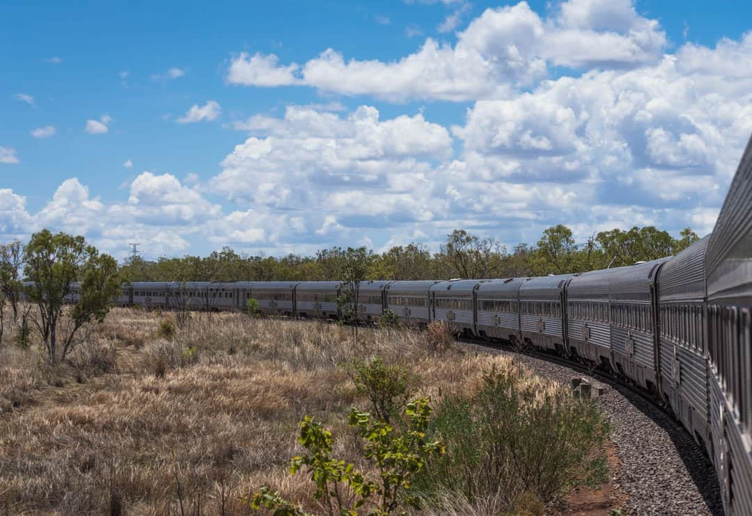 The Ghan Katherine Gorge Cruise