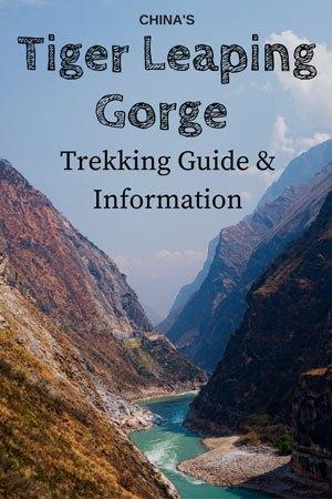 Tiger Leaping Gorge Trek China