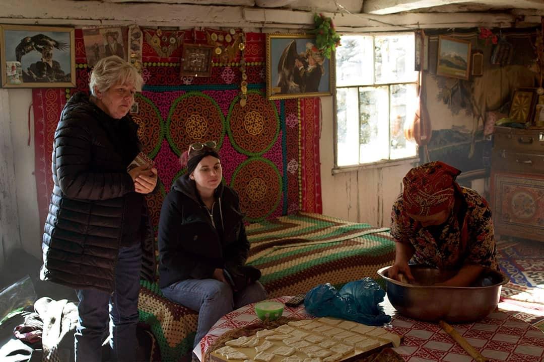 Aisholpan Ger Mongolian Golden Eagle Festival