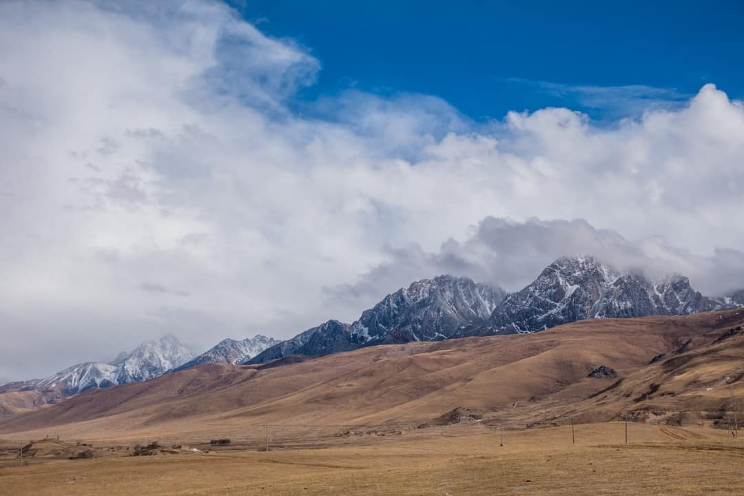 Ganzi Mountain Views I Shat Myself In A Tibetan Monastery