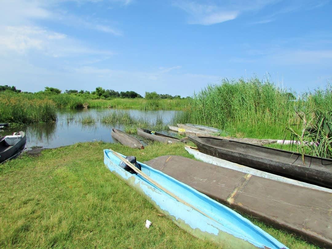 Boat Okavango Delta