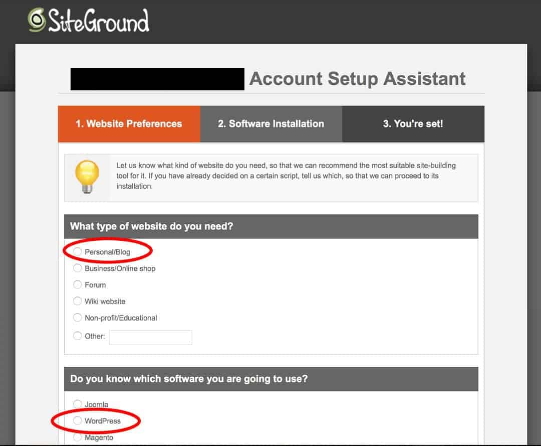 How To Start A Travel Blog Siteground Step 9