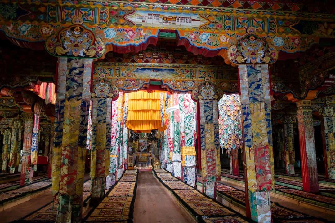 Prayer Hall I Shat Myself In A Tibetan Monastery