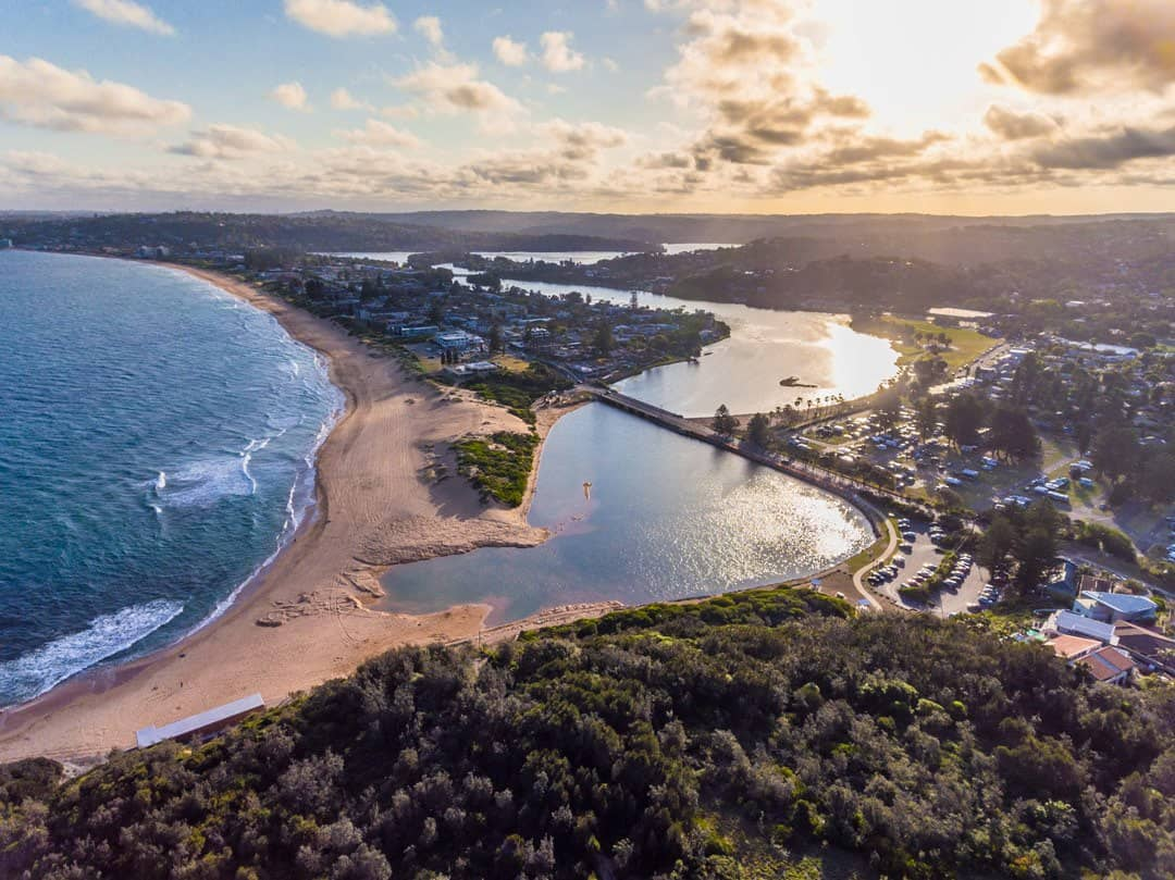 Narrabeen Lake Best Drone For Travel