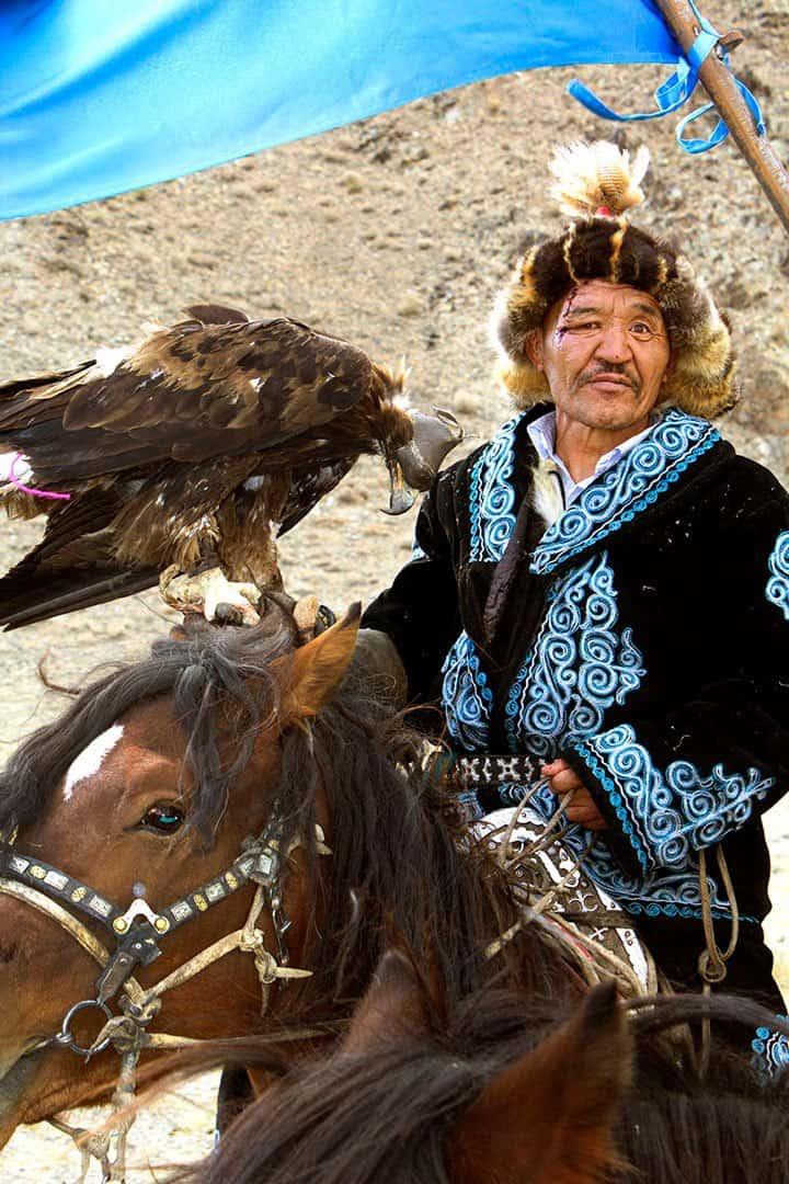 Scarface Mongolian Golden Eagle Festival