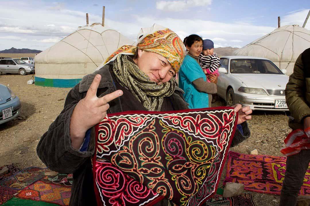 Tapestry Mongolian Golden Eagle Festival