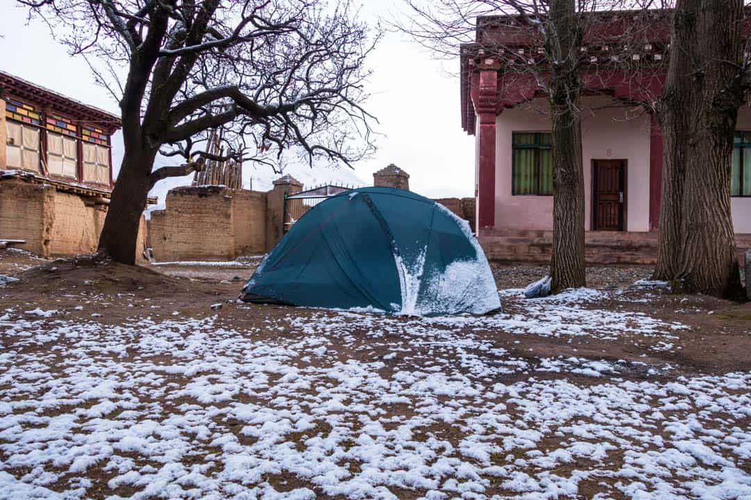 Tent I Shat Myself In A Tibetan Monastery