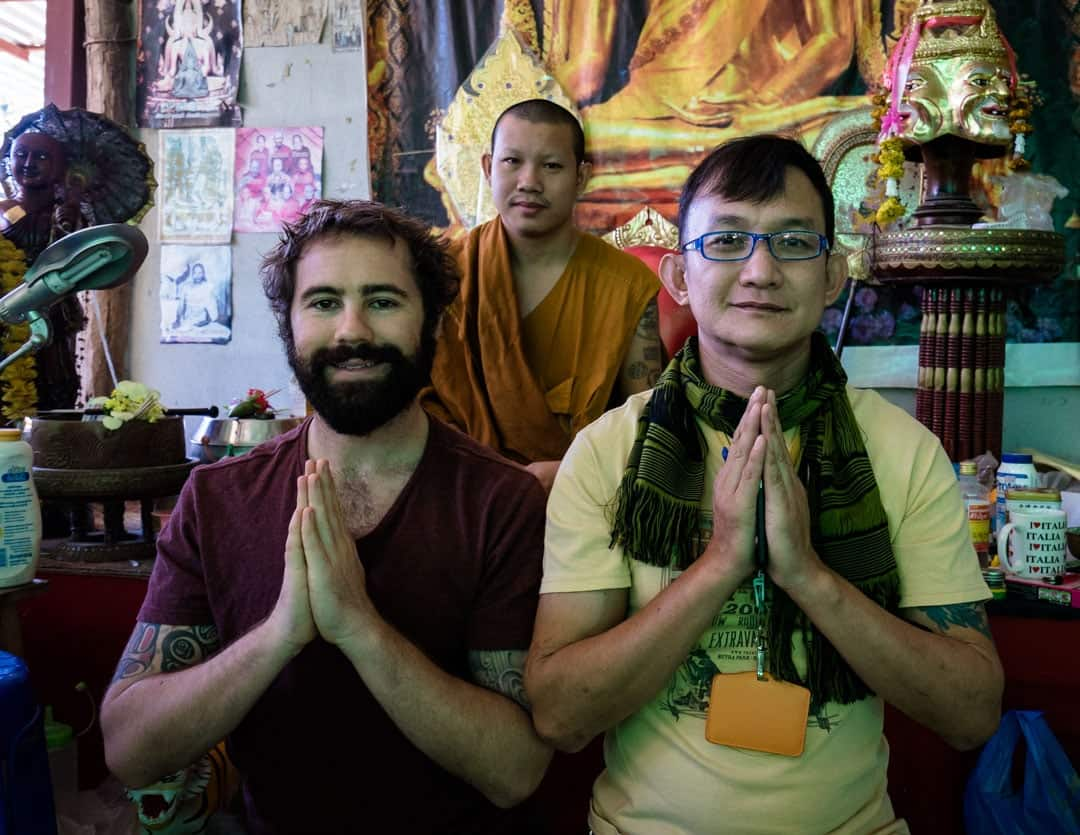 Group Sak Yant In Chiang Mai
