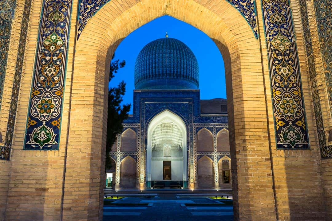 Tamerlane Mausoleum Silk Road Photo Journey