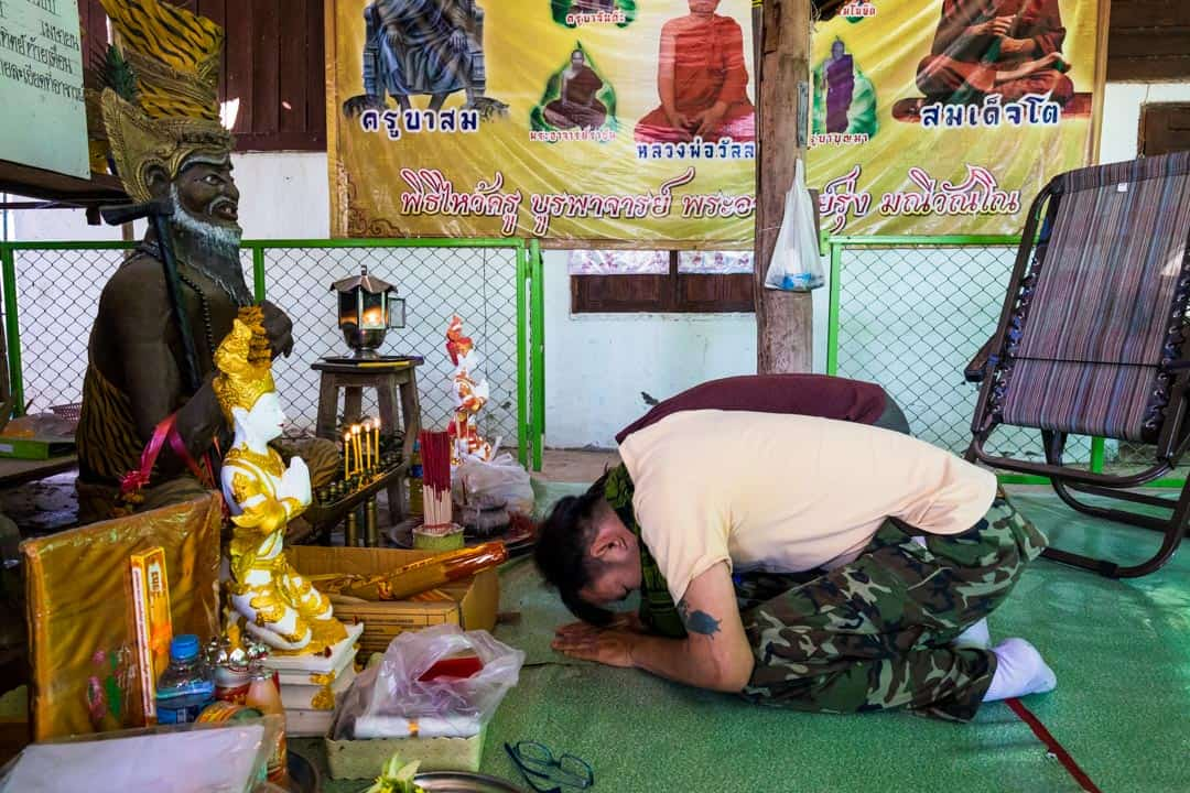 Blessing Sak Yant In Chiang Mai