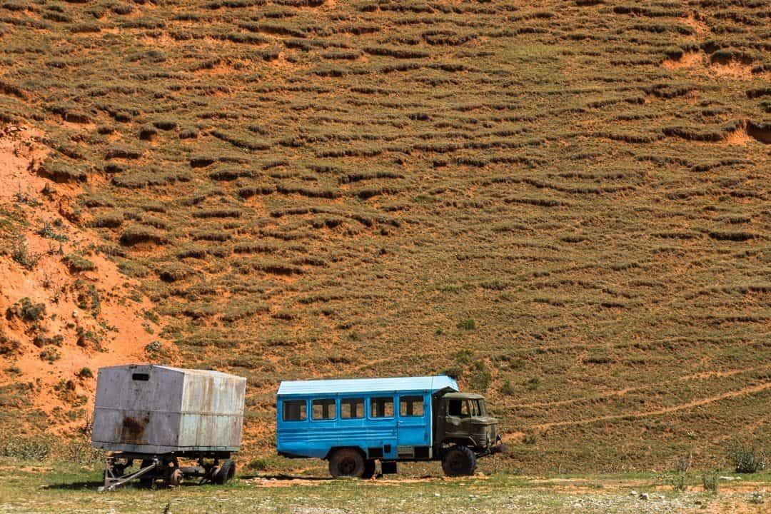 Public Transport Pamir Highway Adventure