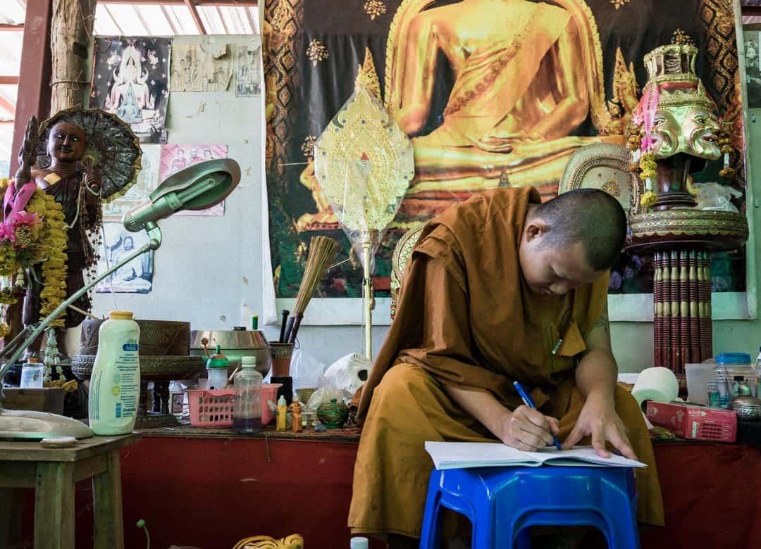 Ajarn Rung Sak Yant In Chiang Mai