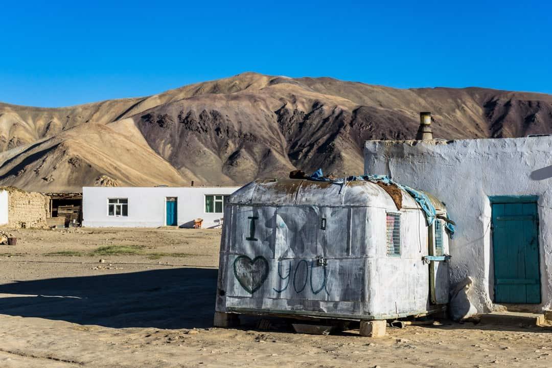 Bulunkul Trailer Pamir Highway Adventure