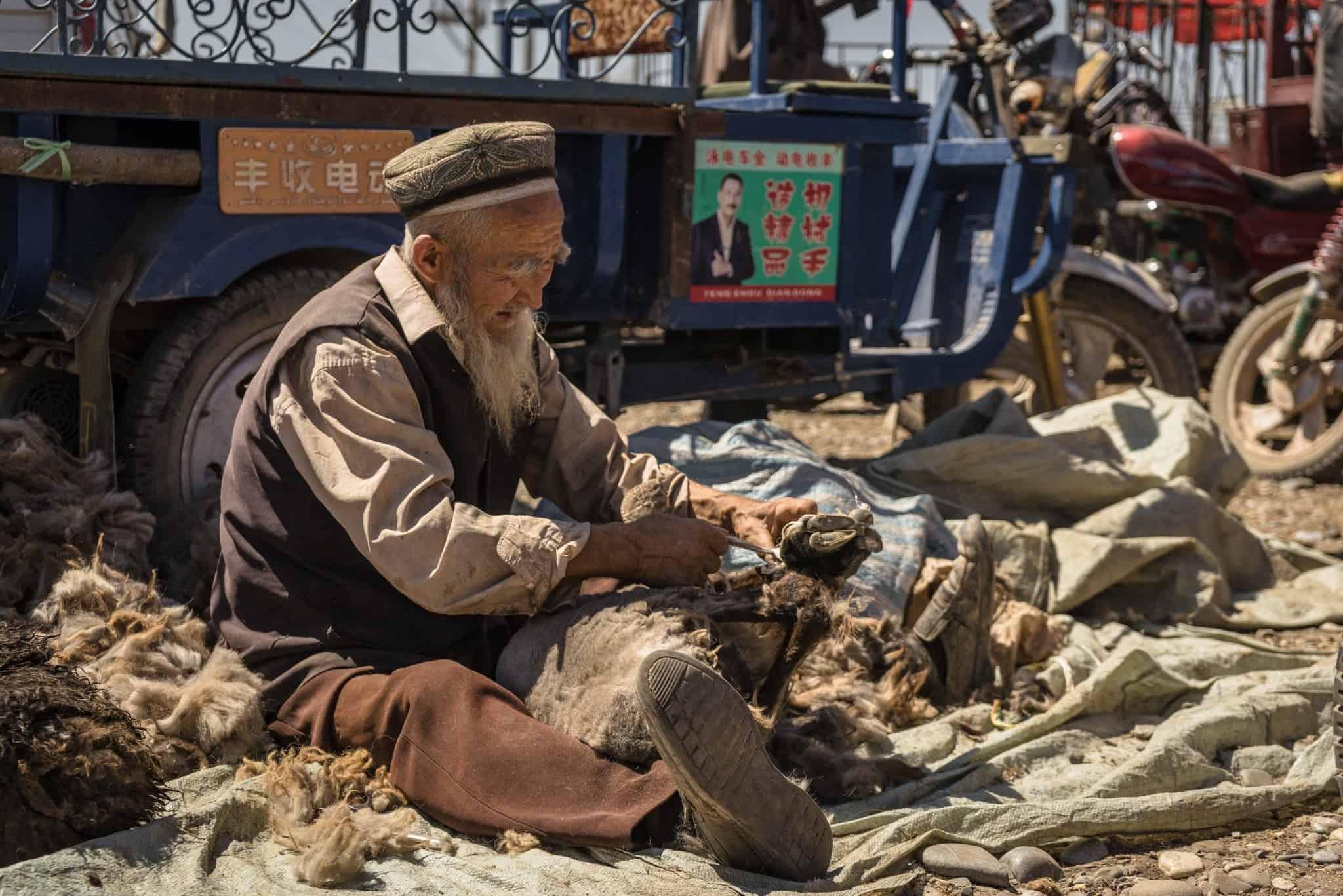 Livestock Market Kashgar Silk Road Photo Journey