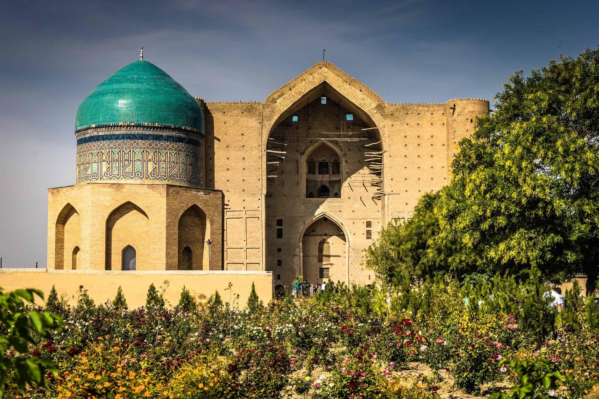 Turkistan he Mausoleum of Khawaja Ahmed Yasawi