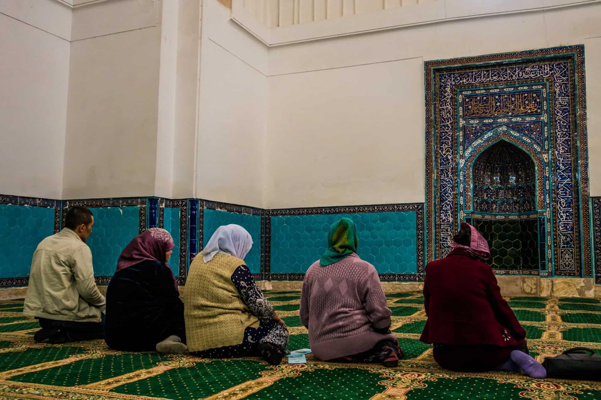 Prayer Room the Mausoleum of Khawaja Ahmed Yasawi