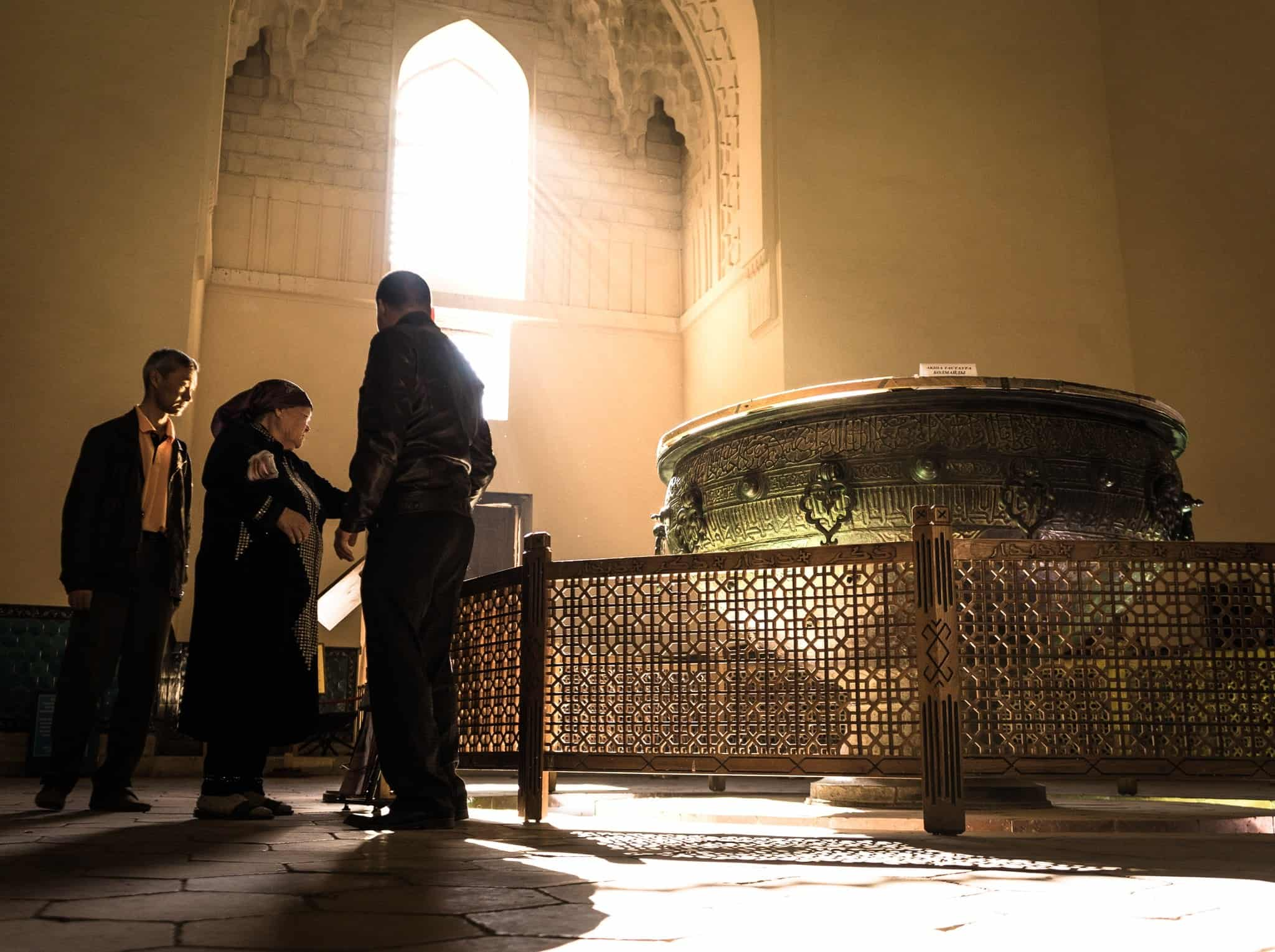 Cauldron Turkistan the Mausoleum of Khawaja Ahmed Yasawi