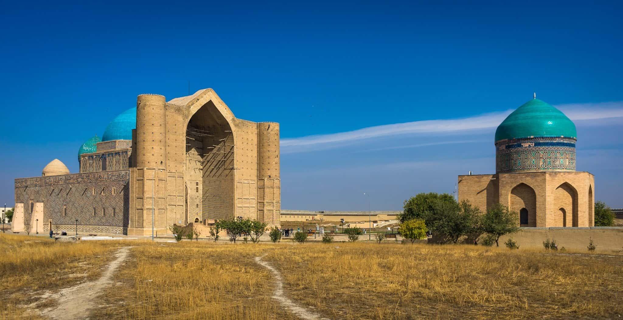 Turkistan the Mausoleum of Khawaja Ahmed Yasawi