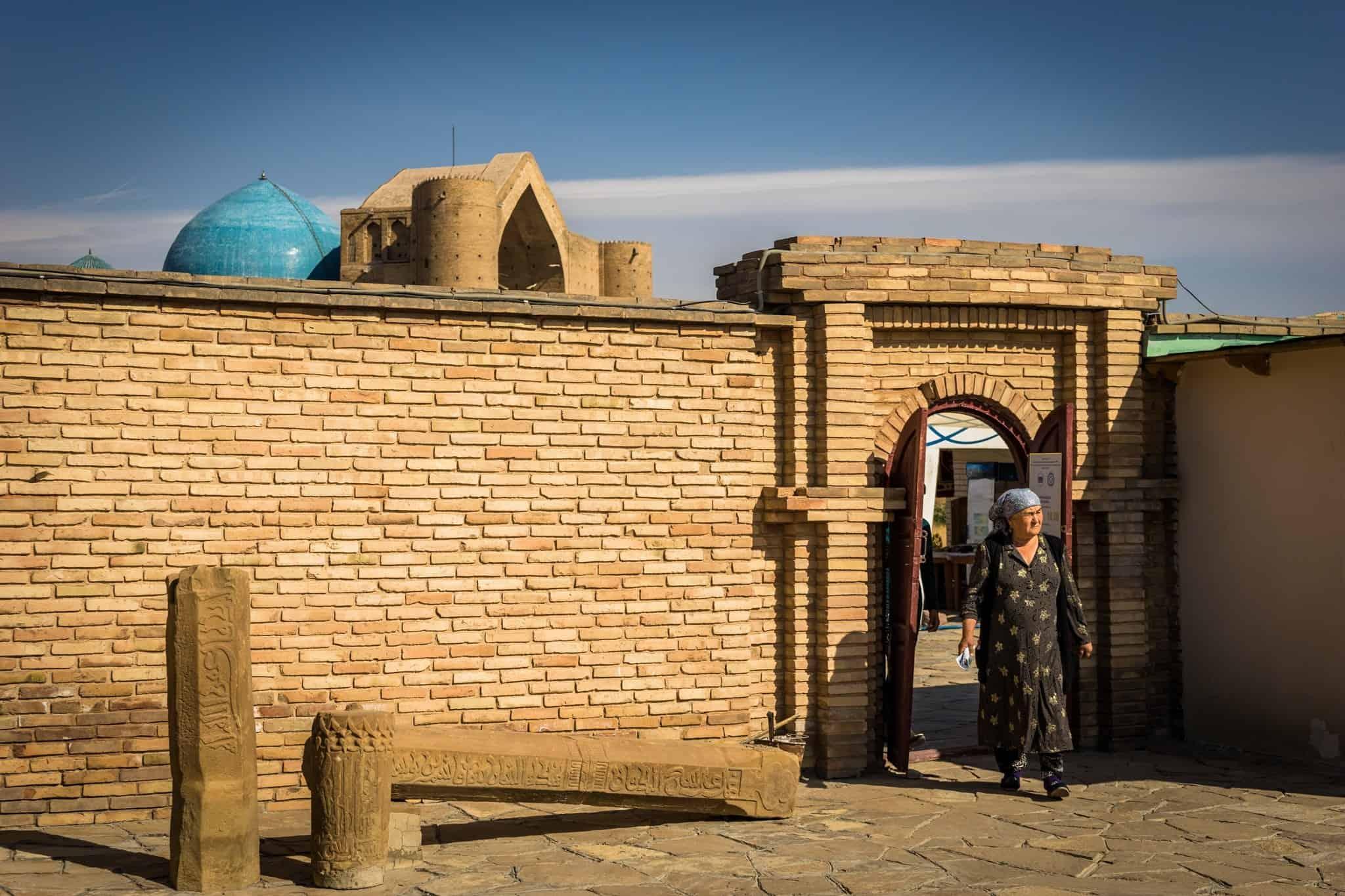 the Mausoleum of Khawaja Ahmed Yasawi