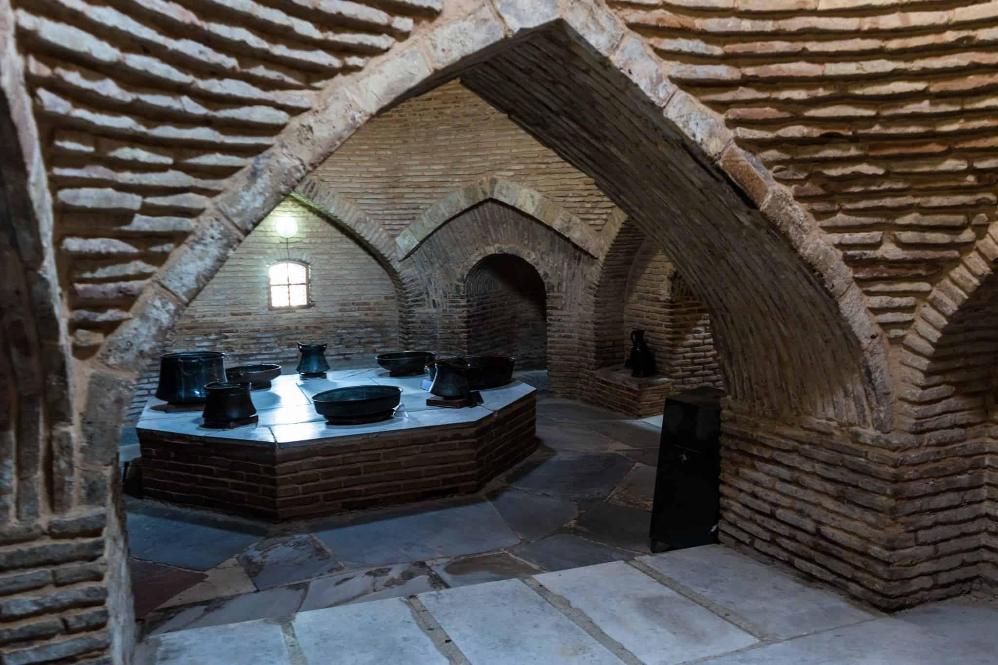 Underground Mosque the Mausoleum of Khawaja Ahmed Yasawi Turkistan