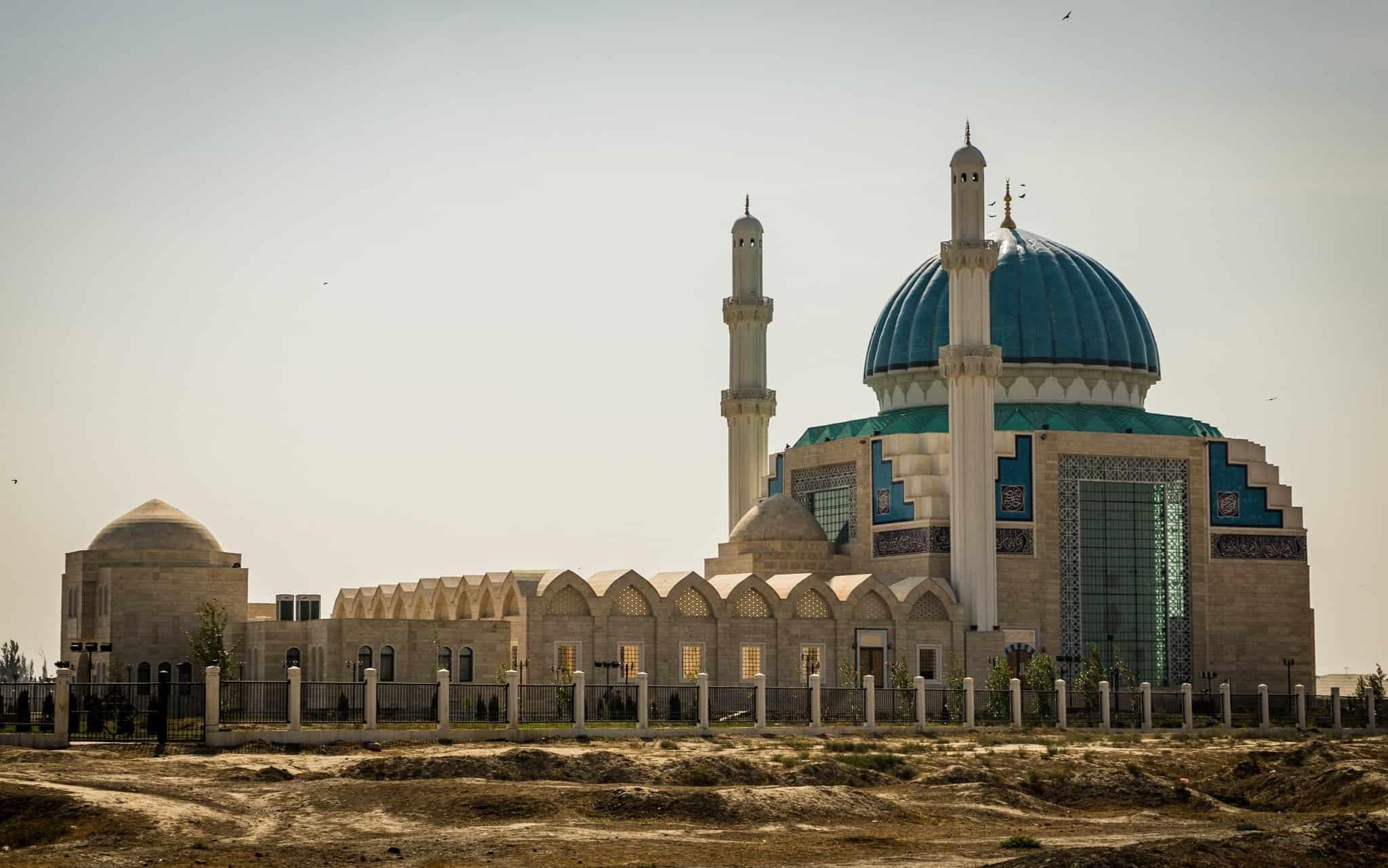 Turkistan Mosque the Mausoleum of Khawaja Ahmed Yasawi