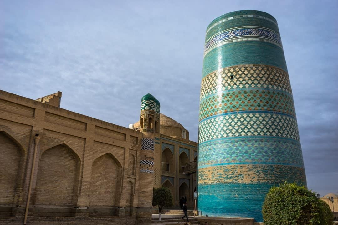 Khiva Minaret Silk Road Photo Journey