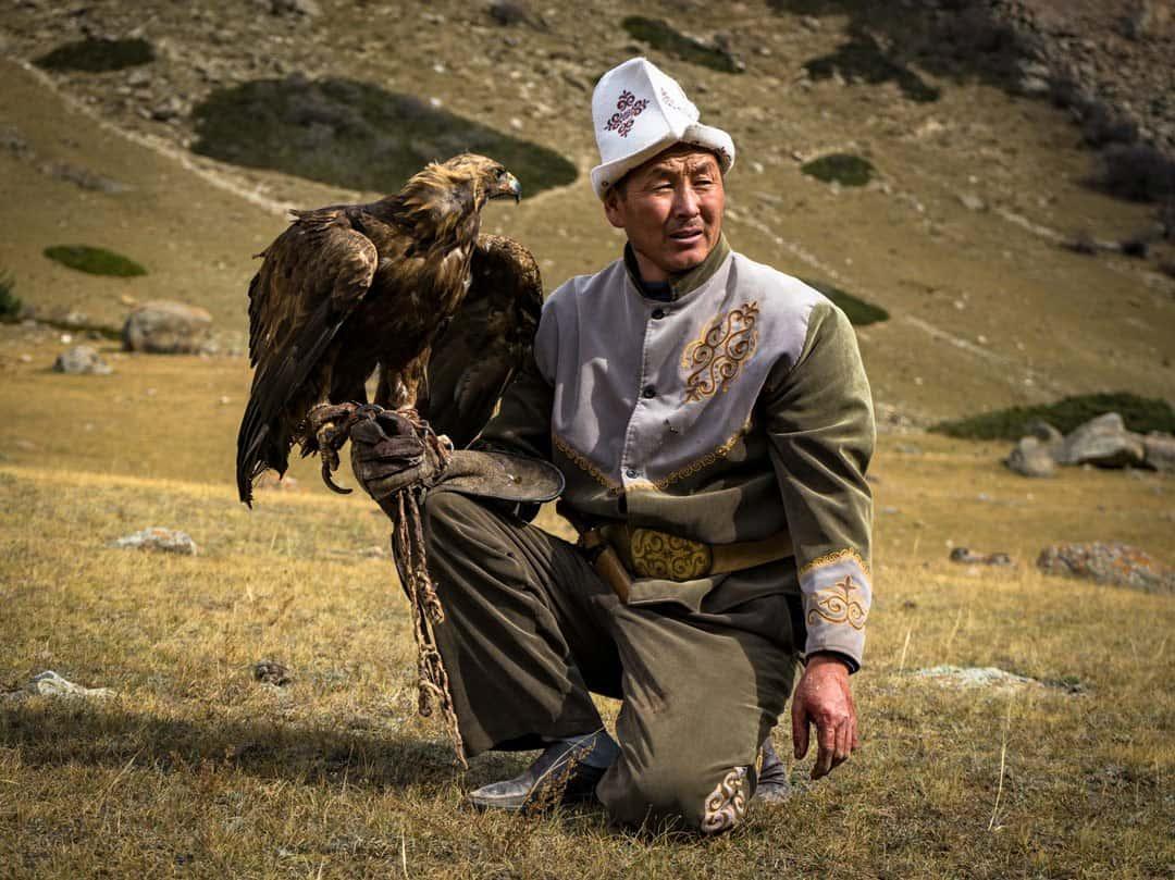 Kyrgyz Eagle Hunter Silk Road Photo Journey