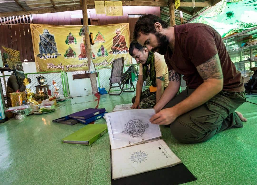 Designs Sak Yant In Chiang Mai