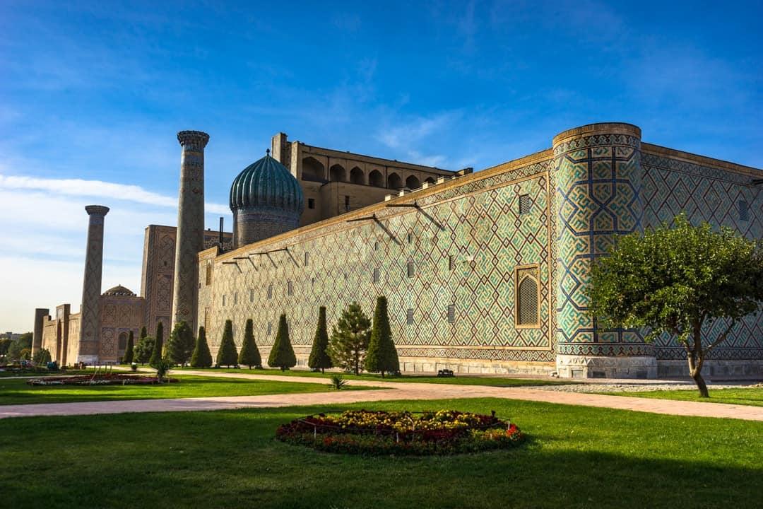 Registan Walls Silk Road Photo Journey