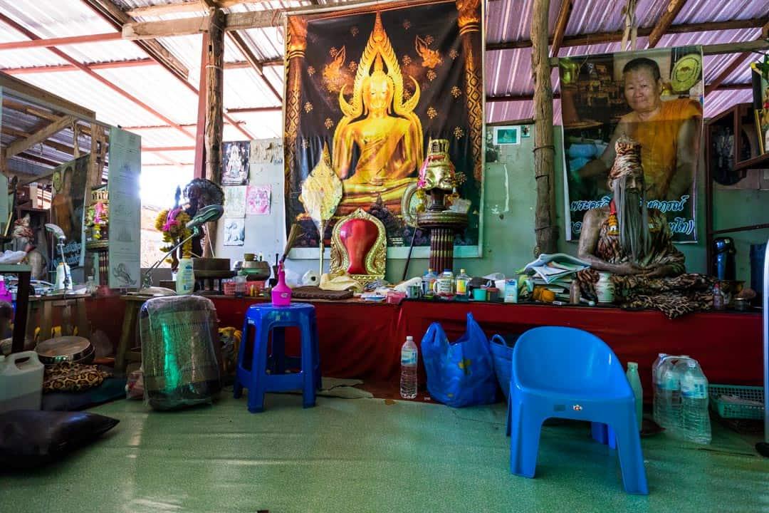 Samnak Sak Yant In Chiang Mai