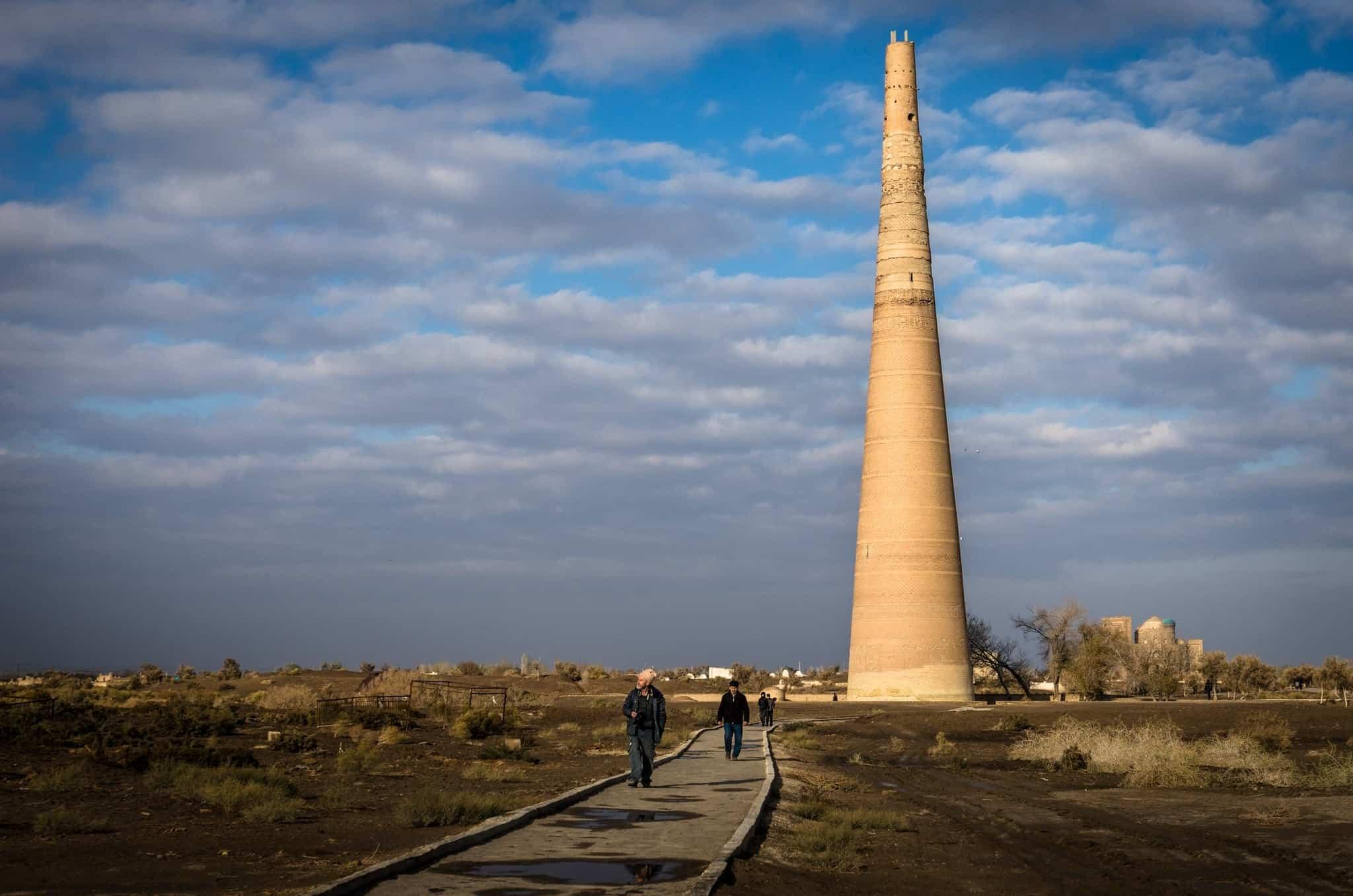 Kutlug Timur Minaret Silk Road Photo Journey
