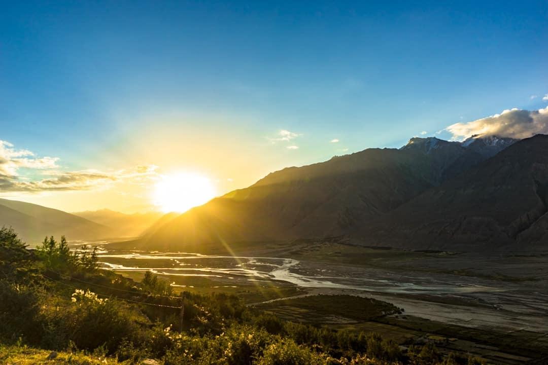 Sunrise Wakhan Valley Pamir Highway Adventure