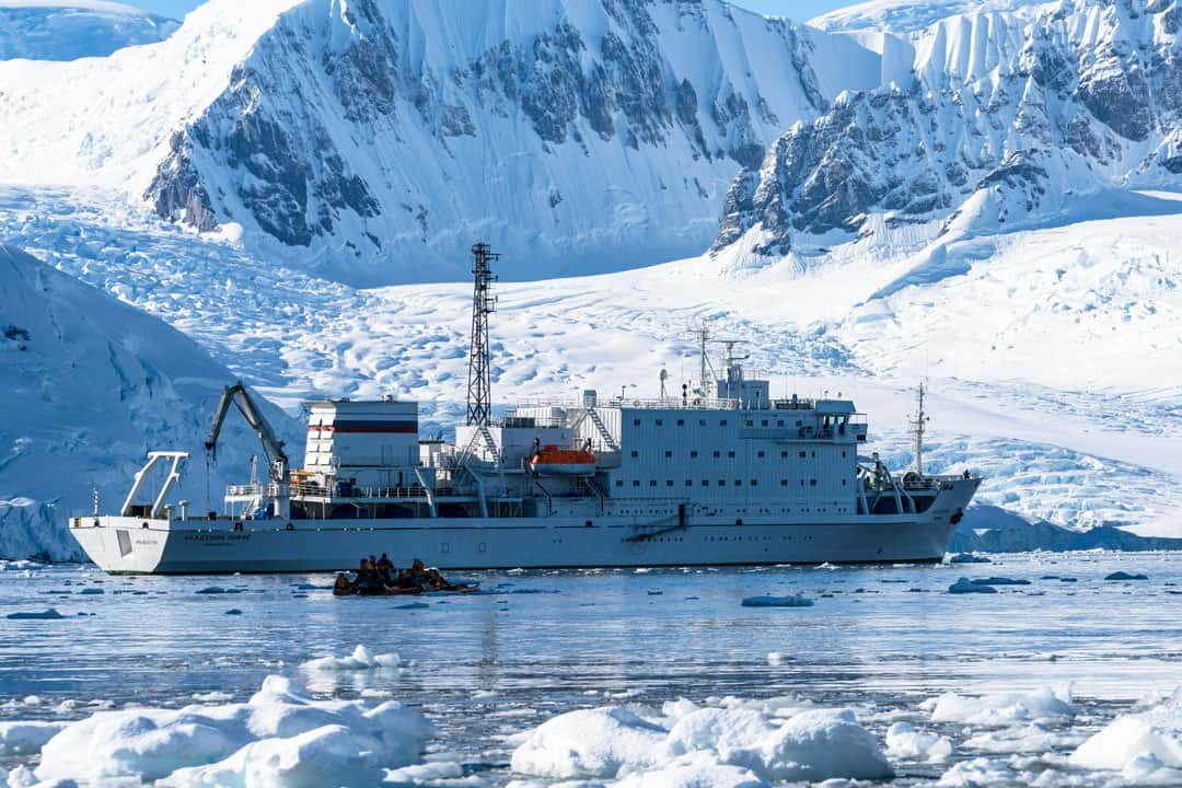 Akademik Ioffe Crossing The Drake Passage From Ushuaia To Antarctica