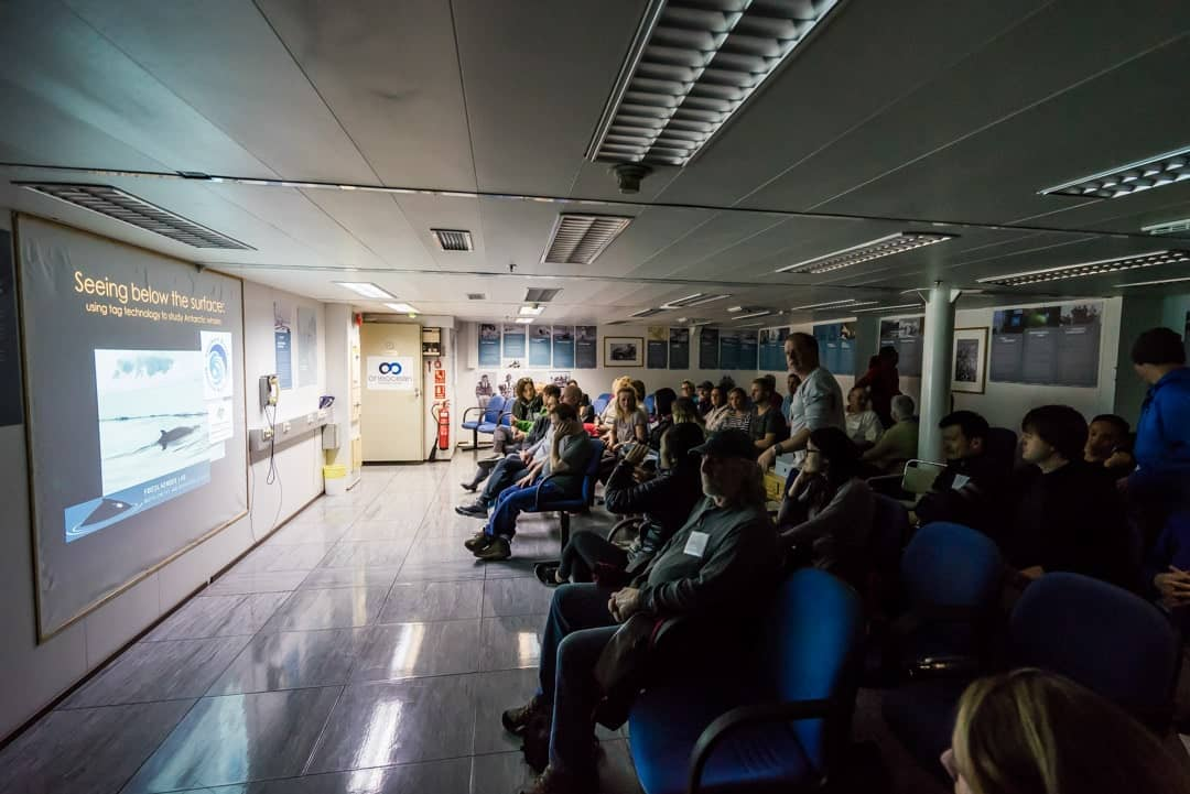 Akademik Ioffe Presentation Room Crossing The Drake Passage From Ushuaia To Antarctica