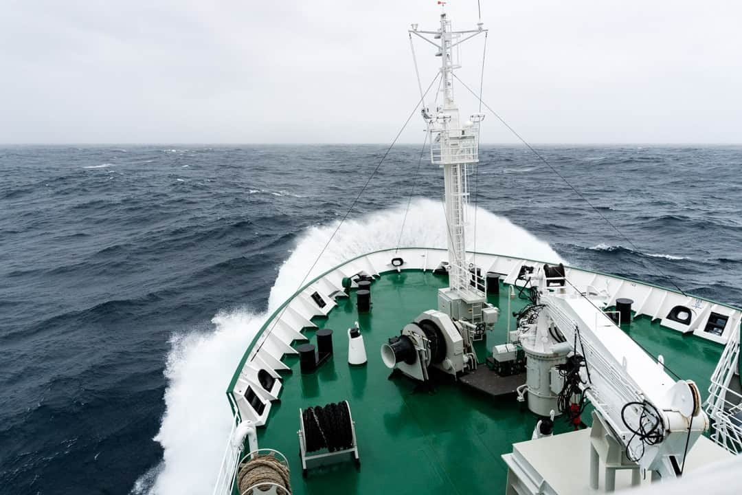 Crossing The Drake Passage From Ushuaia To Antarctica