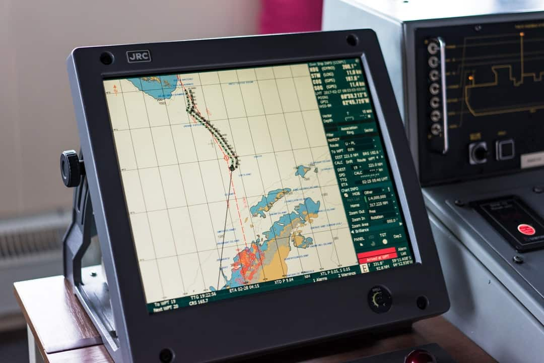 Chart Crossing The Drake Passage From Ushuaia To Antarctica