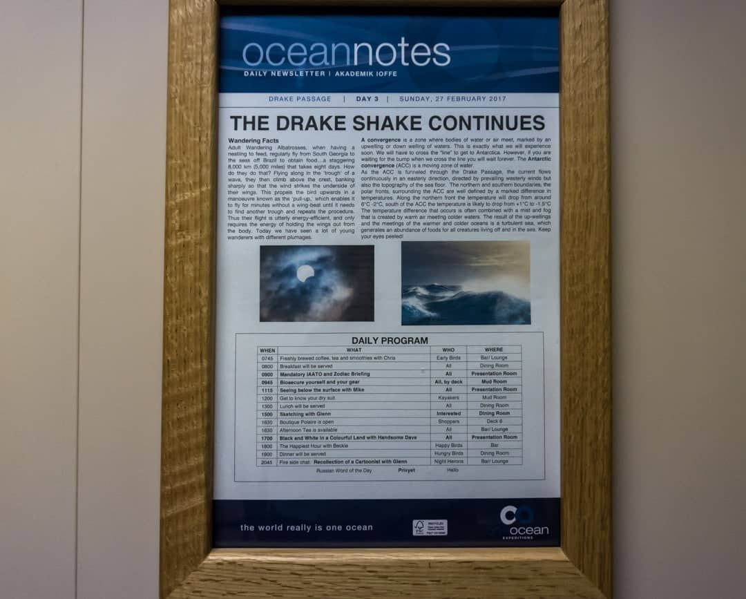 Drake Shake Crossing The Drake Passage From Ushuaia To Antarctica