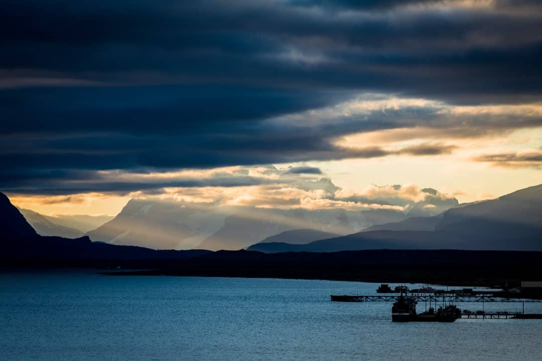 Puerto Natales Sunset