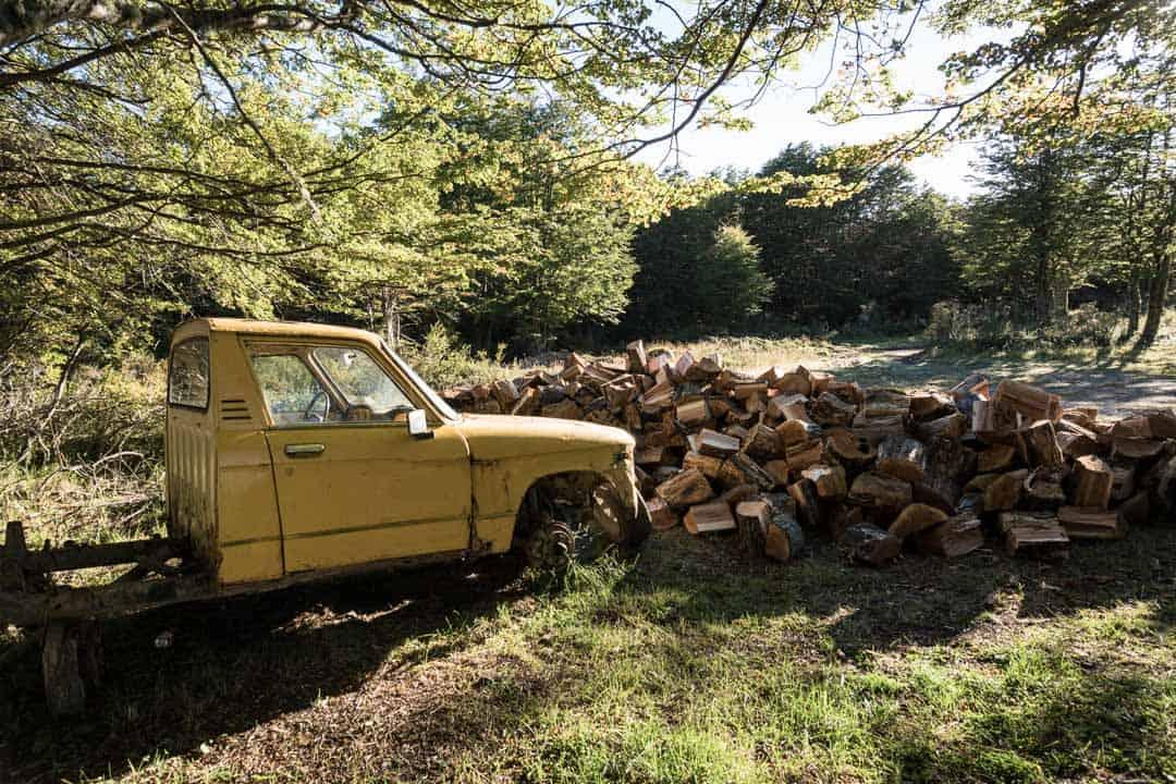 Old Truck Puerto Natales