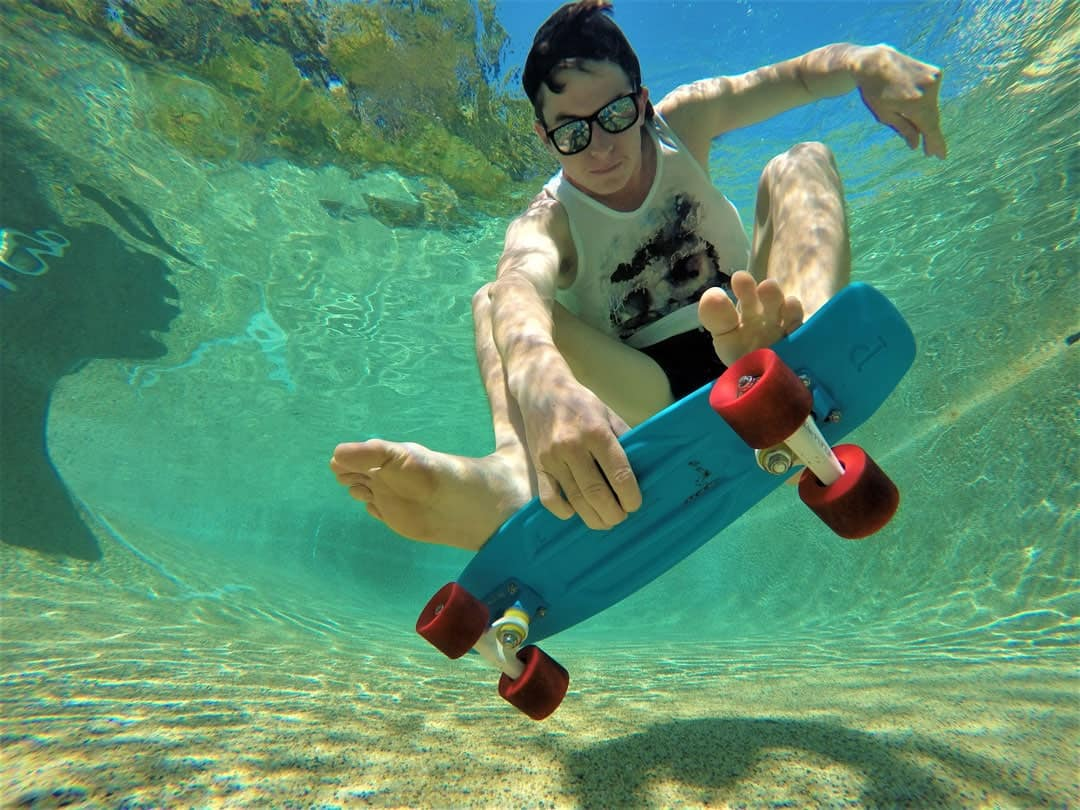 Underwater Skateboard How To Take Awesome GoPro Photos